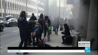 Attentats à Bruxelles : retour en images sur l