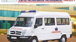 Quality and Quick Ambulance Service in Ranchi and Dhanbad by King