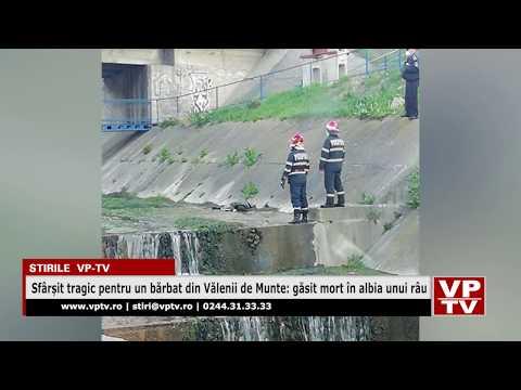Sfârșit tragic pentru un bărbat din Vălenii de Munte: găsit mort în albia unui râu