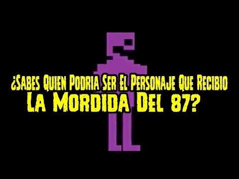 ¿Sabes Quien Podria Ser El Personaje Que Recibio La Mordida Del 87? | FNAF 4 | FNAF