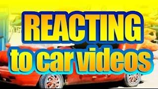 REACTING: CARS video - kids reacting  - video #1