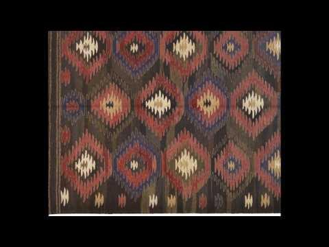 Traditionell gewebte Kelims aus handversponnener Wolle