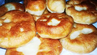Пирожки как пух УЖЕ ЧЕРЕЗ 30 минут БЕЗ яиц, молока и кефира!