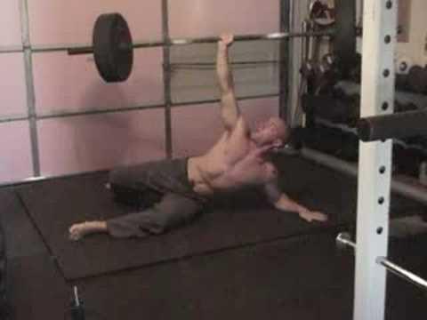 135 pound barbell turkish get up!