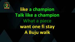 Gambar cover Buju Banton - Champion (With Vocals) (Karaoke Version)