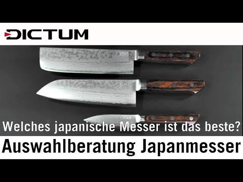 Auswahlberatung Japanmesser - Welches japanische Messer kaufen? DICTUM