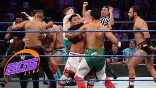 Captain's Challenge 10-Man Tag Team Elimination Match: WWE 205 Live, Aug. 20, 2019