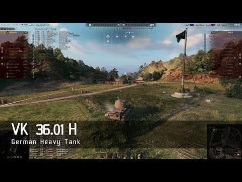 World of Tanks – German Tech Tree - Heavy Tank – VK 36 01 H – Empires Border