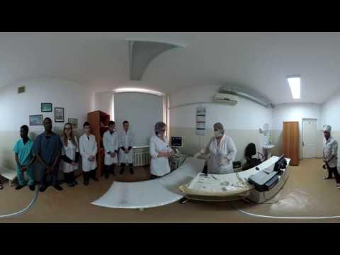 Семикина Елена Ивановна.Биопсия печени под контролем УЗИ. 360 видео