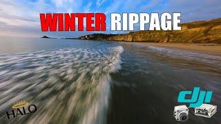 Winter Rippage - HaloRC Archon V3 Testing - DJI HD FPV Freestyle - GoPro Hero9