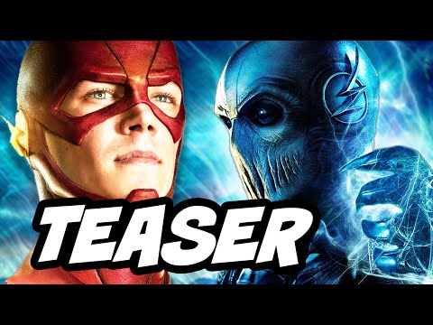 The Flash Season 3 Supergirl Musical Episode Teaser and Black Flash Savitar Breakdown