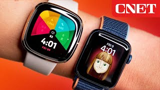 Apple Watch Series 6 vs Fitbit Sense