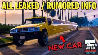 GTA Online - ALL Leaked / Rumored Info on the Nightclub DLC