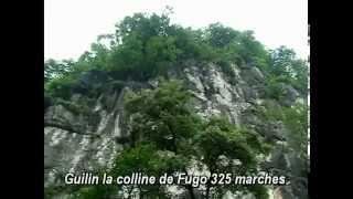 preview picture of video 'Chine découverte de la colline Fugo ville de Guilin'