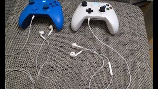 How to use Apple EarPods ( Headphones ) on Xbox One