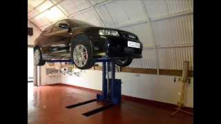 Home Made 1 Post Car Lift,
