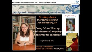 "Hilary Janks ""Doing Critical Literacy"""