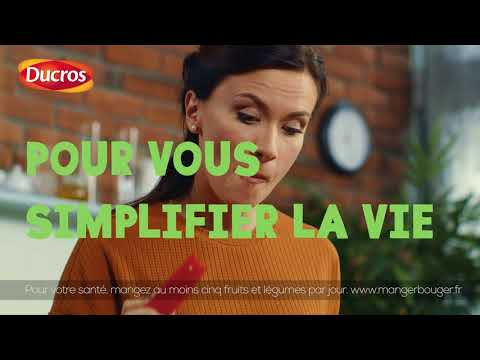 Musique publicité Ducros Qu'est-ce qu'on mange ce soir ? TE 15 V1    Juillet 2021