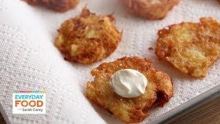 Potato Latkes | Everyday Food with Sarah Carey