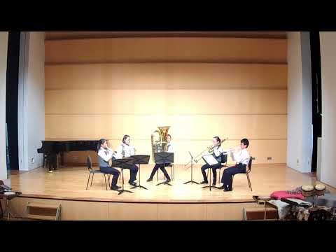 武蔵浦和コミュニティセンター アンコン 宮原中学校 金管5重奏 最優秀賞
