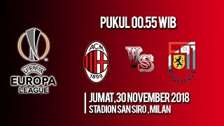 Jadwal Pertandingan dan Cara Nonton Streaming AC Milan Vs Dudelange di HP via MAXStream beIN Sports