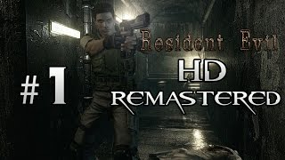 preview picture of video 'Resident Evil HD Remaster Gameplay Walkthrough Part 1 - No Commentary (Biohazard) - Chris Redfield'