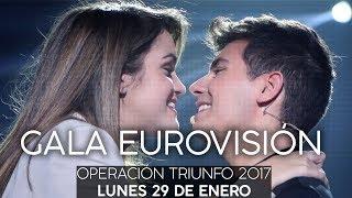 OT GALA EUROVISIÓN ENTERA | RecordandOT | OT 2017