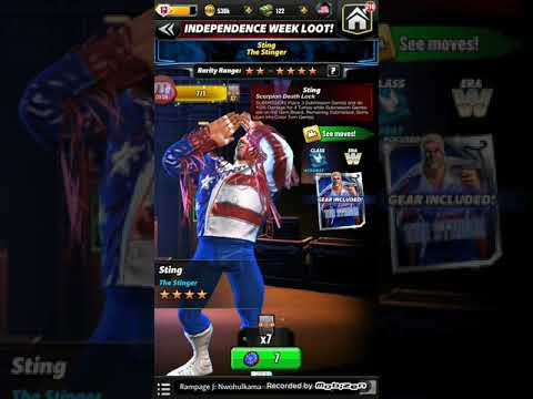 WWE Champions - 2nd Independence Day Loot Pull!!