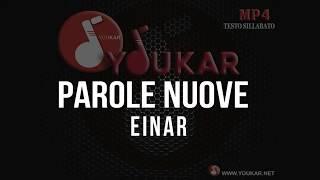 KARAOKE Einar   Parole Nuove