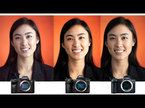 Canon vs Nikon vs Sony - Eye AUTOFOCUS comparison