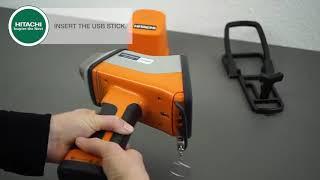 X MET8000 HITACHI - Πώς να Εξάγετε Αναφορά Μετρήσεων σε USB Stick