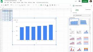 use google sheets for linear regression and a residual plot