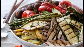 How To Make Giadas Grilled Vegetable Medley | Food Network