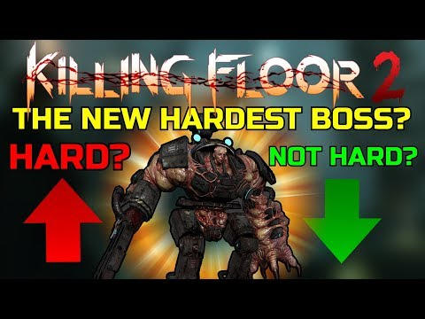 Killing Floor 2 | IS THE NEW BOSS ACTUALLY THE HARDEST BOSS? - 6p HoE VS Matriarch!