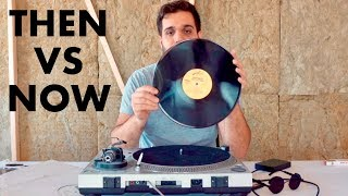What was it like DJing with Vinyl Records?