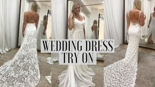 GRACE LOVES LACE | Wedding Dress Try On