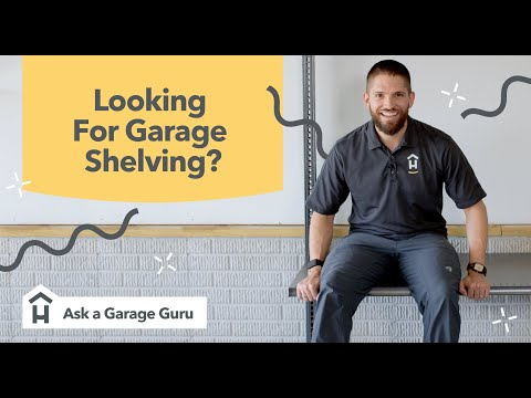 What are the best garage shelves?