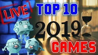 Top 10 Games of 2019 (And Goodbye to Sam)