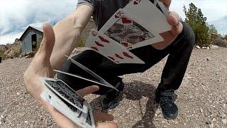 Смотреть онлайн Этот парень просто взял колоду карт и тут понеслось...