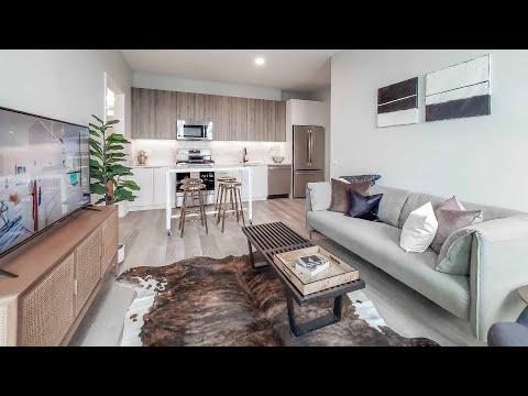 An -07 1-bedroom + den model at River West's new Avenir apartments
