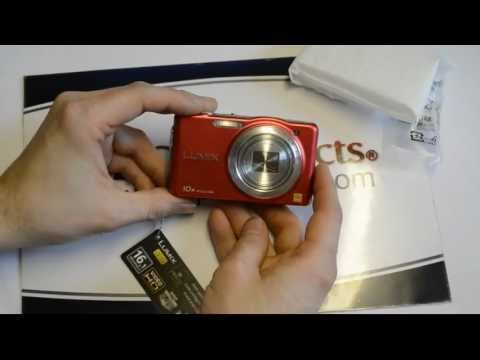 REVIEW: Panasonic DMC-SZ1, DMC-FH8 UNBOXING