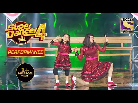 Florina और Tushar ने दिया कमाल का Performance   Super Dancer 4   सुपर डांसर 4