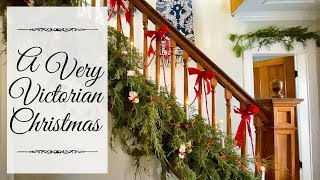 Victorian Christmas Decorations | 1901 Christmas Decorating
