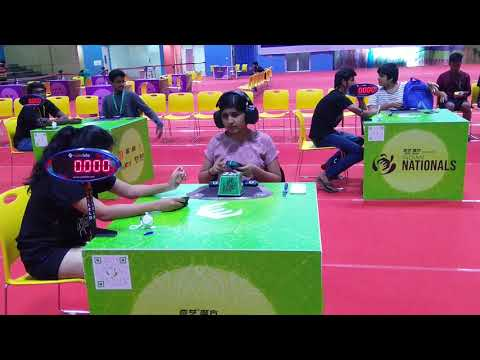 Siddhi Venkatesh, National Champion Cuber