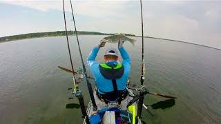 Catch me if you Paddle Season 1 Ep #6: Kayak Fishing Lake Buchanan 12 September 2015