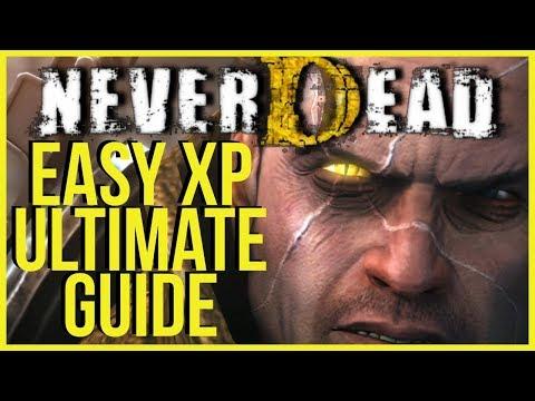 NEVERDEAD ULTIMATE GUIDE |  EASY XP! - HM