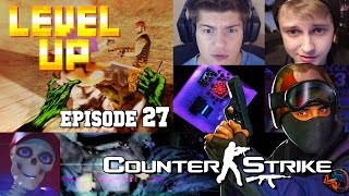 Level up 27:Counter strike с Серчем и Стинтом