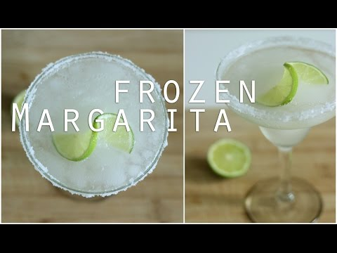 Video Frozen Margarita Recipe / Cocktail Recipes