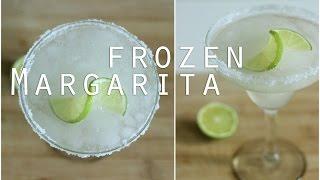 Frozen Margarita Recipe / Cocktail Recipes
