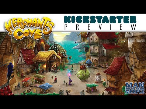 Merchants Cove Preview by Man Vs Meeple (Final Frontier Games)